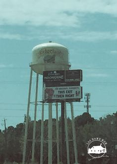 Water Tower on I-95 Ridgeland SC