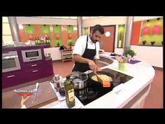 Receta: Crema de calabacín con salteado de pollo - YouTube