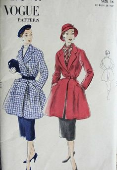 Vogue 7276 - I didn't hesitate to pin this pattern - I love the complete look!