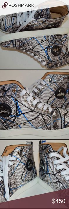 Christian Louboutin Brand new Christian Louboutin python. Christian Louboutin Shoes Sneakers