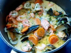no - Finn noe godt å spise Fish Dishes, Main Dishes, Cooking Contest, Swedish Recipes, Cooking Recipes, Healthy Recipes, Main Meals, I Foods, Seafood