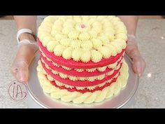 RECHEIO DE LEITE NINHO DELICIOSO EM PONTO DE BICO - Isamara Amâncio - YouTube Chocolates, Brownie Cupcakes, Love Cake, Cake Tutorial, Party Cakes, Relleno, Pretzel, Vanilla Cake, Coco