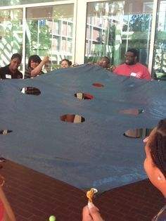 PitFall - A team building activity that teaches about budgeting, financial literacy, and spending money.