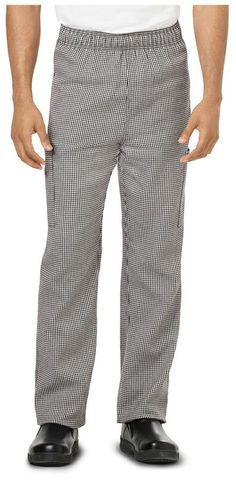 Unisex Chef Pant by Dickies Style: DC12 in Houndstooth