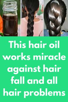 This hair oil works miracle against hair fall and all hair problems To make this miracle hair oil, you will only these three ingredients: Onion Garlic Coconut oil Procedure: Finally chop 1 onion, and also Chop 5-6 garlic cloves. In a pan take 1/2 cup of coconut oil. Now Add garlic and onion in heated oil. Turn on flame and heat it for 5-10 minutes. After that …