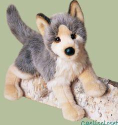 """Douglas Tyson FLOPPY WOLF 16"""" Plush Stuffed Animal Wildlife Cuddle Toy New #DouglasCuddleToy"""