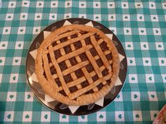 crostata di marmellata. made with the PASTA FROLLA recipe