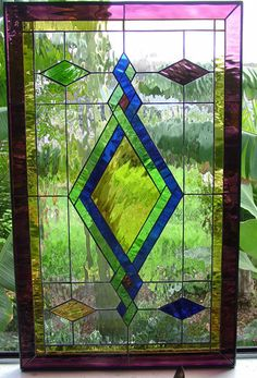 Lovely All Clear Textured Arched Stained Glass by ArtGlassWindows