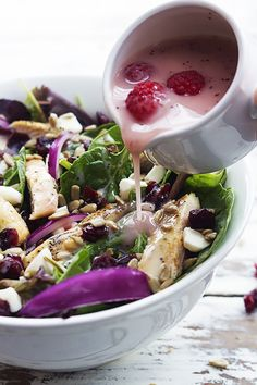 """wefindthebestrecipes: """" do-not-touch-my-food: Cranberry Sunflower Salad More awesome food pics and recipes here http://www.wefindthebestrecipes.com """""""
