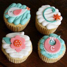 baby shower cupcakes bautizo