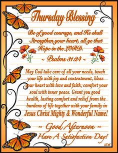 Thursday Prayer, Thursday Quotes, Thankful Thursday, Afternoon Delight, Good Afternoon, Good Morning, Evening Greetings, Daily Scripture, Thursday Morning