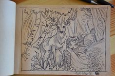 Creativity of Fià: Sketches: biro & matita