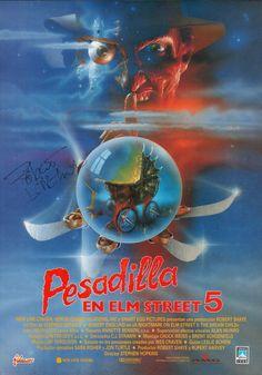 1989 - Pesadilla en Elm Street 5 - A Nightmare on Elm Street The Dream Child - tt0074130