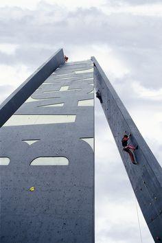 Climbing Towers & Boulder Wall – Blackpool, 2009 — Gordon Young