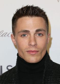 Colton Haynes Photos - Actor Colton Haynes attends DETAILS Celebrates The 2013 Hollywood Mavericks at the Soho House on December 2013 in West Hollywood, California. - DETAILS Celebrates the 2013 Hollywood Mavericks Colton Haynes Teen Wolf, Elton John Aids Foundation, Beautiful Men Faces, Hair Color For Black Hair, Hair And Beard Styles, Haircuts For Men, Actors & Actresses, Hot Guys, Theodore James