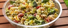 Whipping up a great pasta salad while the meat is grilling is easy with Suddenly Salad. Just toss in your favorite veggies, stir and voilà!