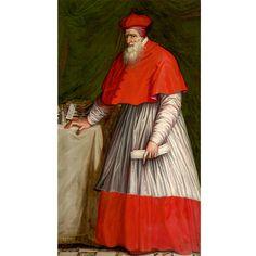 Unknown artist active in Rome Portrait of Stanisław Hozjusz Rome, 1575