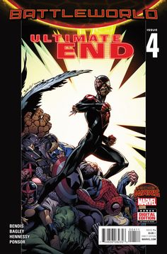 Ultimate End #4, By Brian Michael Bendis, Mark Bagley and Justin Ponsor  One of the most annoying things about the Ultimate Universe is that we keep getting these bi...,  #All-Comic #BrianMichaelBendis #JeremyMatcho #JustinPonsor #MarkBagley #Marvel #SecretWars #ULTIMATEEND