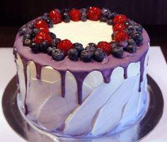 Яркий торт без мастики | 79 фотографий