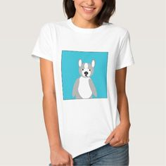 Cute cuddly and Lovable Boston Terriers Tee Shirt