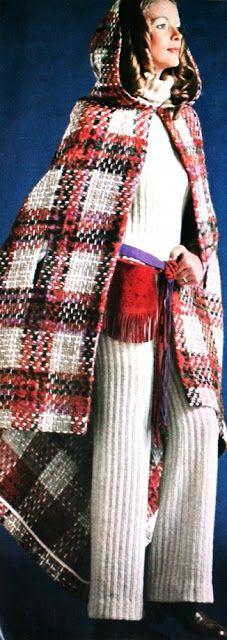 Fall Fashion Femmes d'Aujourd'hui 1970 | The House of Beccaria