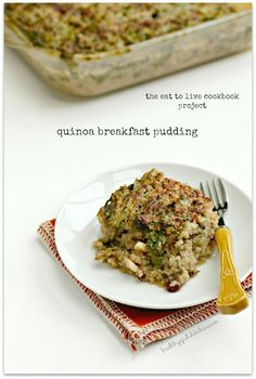 The Eat to Live Cookbook Project: Quinoa Breakfast Pudding