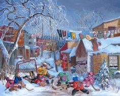 Pauline Paquin (Quebec artist).    Linda Elliott onto Art I Like #1