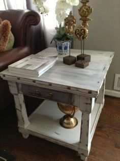 40 best rustic end tables ideas