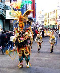 Carnival costume, Oruro, Bolivia