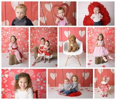 Some of them have been my Valentines for a few years now and others were new Valentines this year. No matter which, they were all adorable and Valentine minis were so much fun! Some cute little props and smiling faces = success! Enjoy this little collection of just some of my favorites!