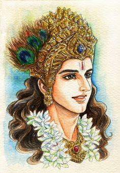 Fanart of Krishna,Mahabharat
