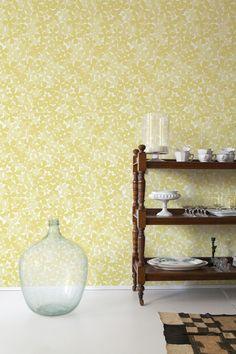 Die-cut Flowers - Covered Wallpaper