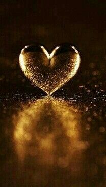 """Golden heart. """"The saddest people I've ever met in life are the ones who don't care deeply about anything at all. Passion and satisfaction go hand in hand, and without them, any happiness is only temporary, because there's nothing to make it last."""" ― Nicholas Sparks,"""
