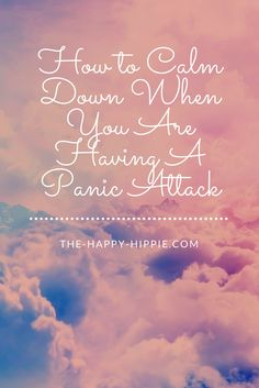 Need some tips to help yourself calm down while having a panic attack? I laid out some tips that I know have helped myself and others! Click the link!