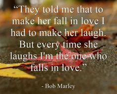 Bob Marley's view on love...