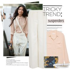 How To Wear Tricky Trend Suspenders Outfit Idea 2017 - Fashion Trends Ready To Wear For Plus Size, Curvy Women Over 20, 30, 40, 50