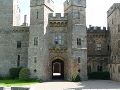 Raby Castle, England by Nigel's Best Pics, via Flickr.  the castle comprises a powerful combination of towers and fortifications. Inside is a magnificent Barons'  Hall plus Medieval, Regency and Victorian interiors.