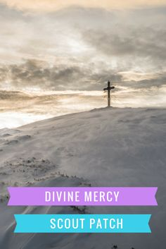 Divine Mercy - A new patch program for Catholic Cub Scouts, Boy Scouts, Girl Scouts, American Heritage Girls Cub Scouts, Girl Scouts, American Heritage Girls, Catholic Kids, Divine Mercy, Bear Cubs, Christian Parenting, Troops, Patches