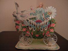 Vintage Embossed 3D Victorian Valentine: beautiful Valentine!!!