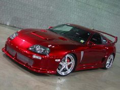 Not so much the car as the color.. Love that red on a car. And I don't like red.