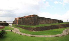 O Forte do Presépio, marco histórico de Belém do Pará Foto: Eduardo Maia / O Globo