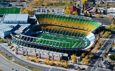 Commonwealth Stadium (Edmonton Eskimos) - Edmonton, AB Football Stadiums, College Football, Canadian Football League, Sports Stadium, Commonwealth, New York Yankees, Olympics, Parks, Around The Worlds