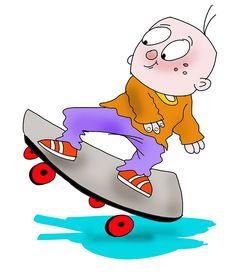 Little Boy Playing His Skateboard témájú stockvektorkép (jogdíjmentes) 1392900566 Boys Playing, Cartoon Drawings, Bart Simpson, Little Boys, Smurfs, Skateboard, Kindergarten, Kids, Fictional Characters