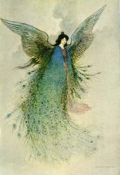 The Moon Maiden - by Grace James - Illustration by Warwick Goble