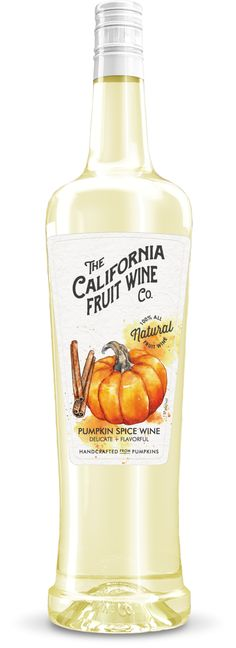 Say hello to fall with this Pumpkin Spice Wine. It's great for when you're looking the perfect balance of sweet and spice. Serve well chilled.