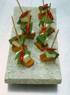 mozzarella & squash skewers   Jamie Oliver   Food   Jamie Oliver (UK)