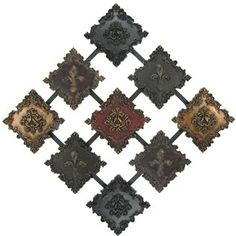 Multi Color Fleur-De-Lis Diamond Wall Decor | Shop Hobby Lobby