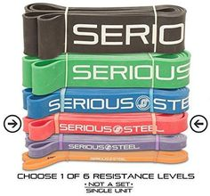 """Red - #2 Monster Mini Pull-up Assist & Resistance Band (Size: 13/16"""" x 4.5mm Resistance: 10-50lbs)"""