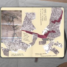 Plan_Moleskine (Ink and photo), 2012_Mariasun Salgado