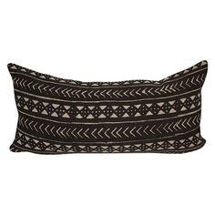Vintage African Mud Cloth Lumbar Pillow – sKout